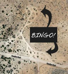 Google satellite is a key way to find boondocking sites. This view near Prescott AZ shows several previously used sites.
