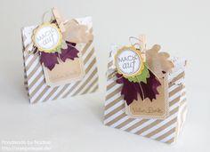 Bedruckte Geschenktuete Stampin Up Tuete Basisset Party-Elemente Box Verpackung Schachtel Geschenktueten Goodie Give Away Gift Idea Herbst Bigz Herbstzauber 006
