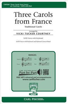 Three Carols from France (Octavo)