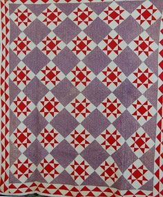 Quilts Civil War: Stars dans un Time Warp 11: Violet