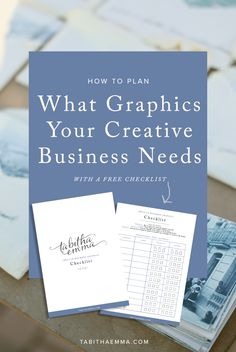 How to Decide What Graphics your Creative Business Needs - Solopreneur Branding, Logos & Graphic Design Business Branding, Business Design, Business Marketing, Creative Business, Craft Business, Facebook Marketing, Online Marketing, Start Up Business, Business Tips