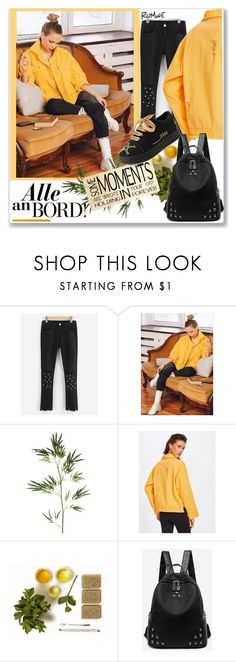 """""""Romwe.8."""" by smajicelma ❤ liked on Polyvore featuring Pier 1 Imports, gift and sale"""