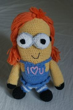 amigurumi Despicable Me charachter- made for my husband for anniversary