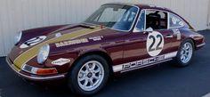 Bailey's restored 1968 Porche 911.