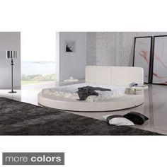 Oviedo Round Modern Platform Bed