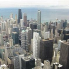 Chicago view from the top. Photo by Stephen J Garrett
