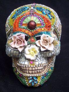 Simply stunning calavera sugar skull.