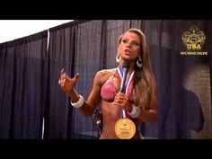 Nathalia Melo After Winning the 2012 Bikini Olympia
