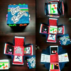 Explosion boxes ❤