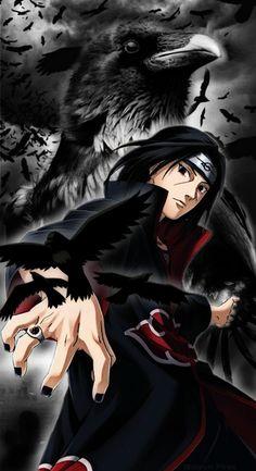 Itachi Mangekyou Sharingan, Itachi Akatsuki, Sasuke And Itachi, Naruto Uzumaki Shippuden, Naruto Shippuden Sasuke, Naruto Art, Kakashi Hatake, Best Naruto Wallpapers, Cool Anime Wallpapers