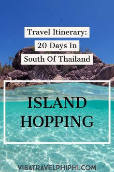 Island HOPPING in Thailand: basic itinerary with maps and tips - Calculating Infinity Thailand Travel Backpacking, Thailand Travel Guide, Bangkok Travel, Nightlife Travel, Asia Travel, Thailand Vacation, Travel Packing, 10 Days In Thailand, Thailand Island Hopping