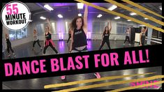 55 Min. Dance workout for all!  SHiNE DANCE FITNESS - YouTube At Home Workout Plan, At Home Workouts, Workout Videos, Exercise Videos, Workout Tips, Dance Moves, Cardio Dance, Youtube Workout, Keep Fit