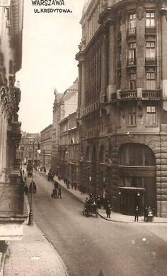 Ulica Kredytowa -lata 30 Fot. Źródło Fotopolska