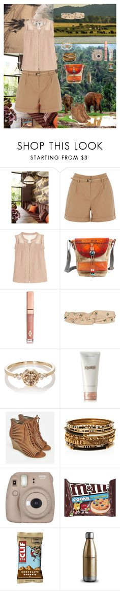 """Travelling To Indonesia"" by oksana-kolesnyk ❤ liked on Polyvore featuring Oasis, Chelsea Flower, TSD, Charlotte Tilbury, Henri Bendel, Jennie Kwon, La Mer, JustFab, Amrita Singh and Fujifilm"