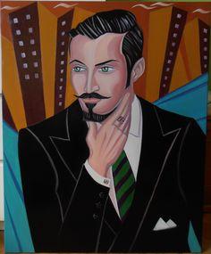 """DENNIS"" Óleo sobre lienzo Tamaño 65X81 cm. Precio 400 Euros."