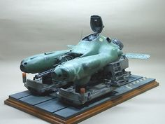 TINAMI - [モデル]1/20 傭兵軍 反重力戦闘機 ファルケ 【電飾/ガトリング砲回転】