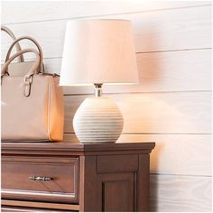 Improvements Antiqued White Mango Wooden Table Lamp ($100) ❤ liked on Polyvore featuring home, lighting, table lamps, desk lamp, desk lighting, floor magnifier lamp, led lamp, office lamp, office light and task lighting