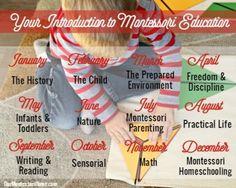 Montessori 101 - The Schedule