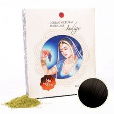 Indigo (kombinovateľné s hennou) Indigo, Henna, Cover, Hair, Hair Color Black, Hair Colors, Get Tan, Woman, Indigo Dye