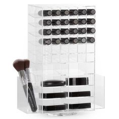 $69 CLEAR SPINNING LIPSTICK TOWER