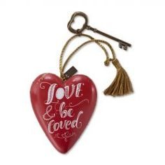 Art Hearts Be Loved is a year round gift found at the ChristmasOrnamentStore.com...