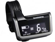 One of Shimano's XTR Di2 electronic shifters