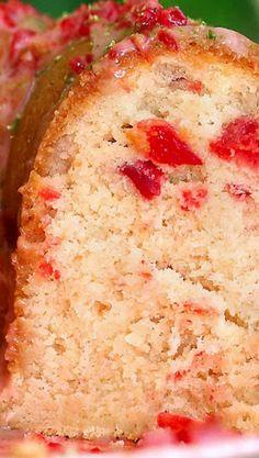 Cherry Limeade Poundcake