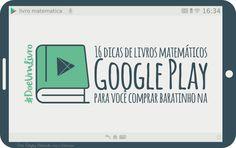 16 dicas de livros matemáticos para você comprar baratinho na Google Play [sorteio]