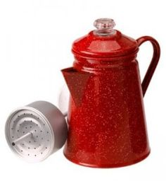 30% off - GSI 8 Cup Coffee Percolator  - Add asplashof retro to your camping table.