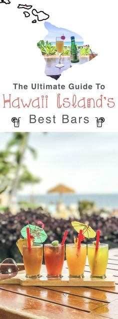 Hawaii Big Island Guide: The best bars & restaurants in Kona, Hawaii.