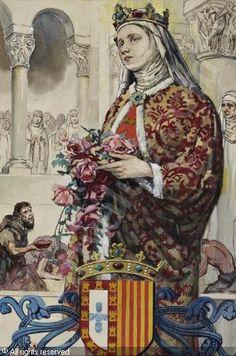 Trapos Cacos e Velharias...: Estátua de Rainha Santa Isabel