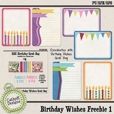 My Digiscrapping Corner by CathyK Designs: Freebie, Sale, Grab Bag, Dollar Items