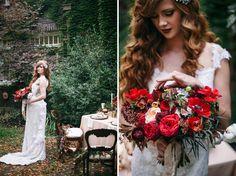 Gatsby Themed Wedding- 1920s fall inspiration