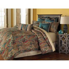 Seville Honey 9-Piece Queen Comforter Set