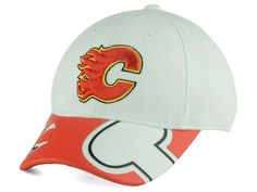 Calgary Flames Reebok NHL 2015-2016 Kids 2nd Season Draft Flex Cap cdc6f10f72b4