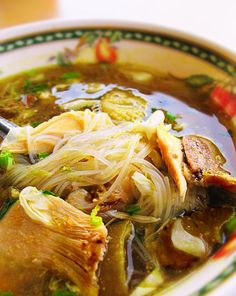 """""""soto ayam (Indonesian Food)."""" Don't think I've ever had any but this looks yummm."""