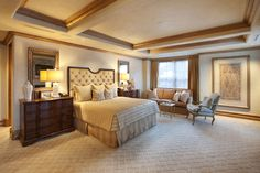 Call this master bedroom yours during your next vacation to Aspen Colorado!