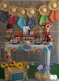 Decoração provençal festa junina