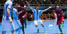 آرژانتین حریف روسیه شد / پرتغال حریف ایران  http://1vz.ir/161607  @1Varzesh  دیگر فینالیست جام جهانی فوتسال مشخص شد          دو تیم فوتسال آرژانتین و پرتغال در چارچوب مرحله نیمه نهایی جام جهانی فوتسال ۲۰۱۶ کلمبیا برای تعیین دیگر تیم راه یافته به دیدار نهایی این رقابتها ازساعت 3:30 بامداد امروز (پنجشنبه) برابر هم صفآرایی کردند که در پایان تیم آرژانتین توانست برابر تیم قدرتمند پرتغال با نتیجه ۵ بر ۲ به پیروزی برسد و جواز حضور در فینال این بازیها را به دست آورد.         ..