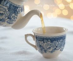 Blue & White china.. still collectible and says 'country'