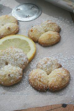 Sablés au citron (au pistolet à biscuits) 2