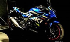 This is it! Production-Ready Suzuki GSX-250R   http://news.maxabout.com/bikes/suzuki/this-is-it-production-ready-suzuki-gsx-r250-gixxer-250/  #Suzuki #250cc #Gixxer #GSX250R
