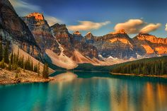 Moraine Lake - September sunrise, Alberta, Canada by Chris Greenwood on 500px