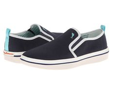 8d5d7205558 Tommy Bahama Men s Relaxology Ryver Canvas Slip on Shoes Navy Sz 10 5 12