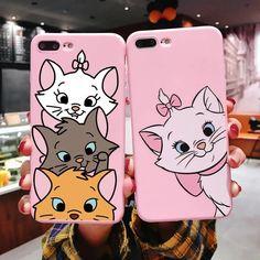 Iphone Cases Disney, Iphone Phone Cases, Iphone Case Covers, Iphone 11, Diy Phone Case, Cute Phone Cases, Canvas Painting Quotes, Marie Cat, 6 S Plus