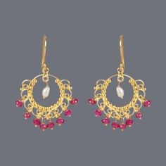 Featuring this Jalli Balli style Earring  by Designer Deepa Sethi on Zarilane.com. Go, Grab yourself one Now!