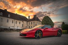 Love Photos, Car Photos, Car Pictures, Red Sports Car, Sport Cars, Perfect Image, Perfect Photo, Supercars, Bmw M Power