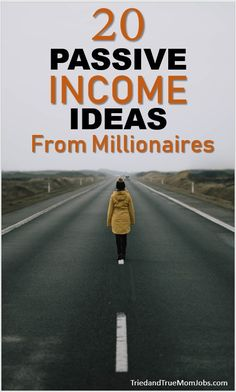 20 Passive Income Ideas from Millionaires Passive income is the best because once you've done the work you can sit back and enjoy the benefits (money) That's how the rich stay rich. See how. Money Saving Mom, Best Money Saving Tips, Ways To Save Money, Money Tips, How To Make Money, Earn Money From Home, Earn Money Online, Legitimate Work From Home, Extra Money