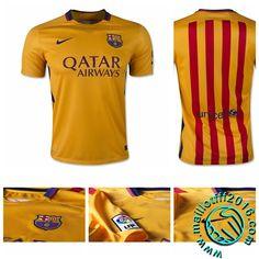 Maillot foot FC Barcelona EXTERIEUR 2015-16