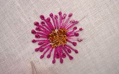 Anything Creative: French Knot - Hand Embroidery..brief tutorial